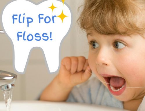 Help your Child Flip for Floss!  Teach them to Floss like a Boss!